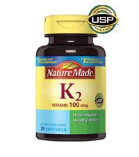 Nature Made K2 100mcg SoftGels