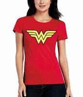 Wonder Woman Logo Junior Women's T-Shirt
