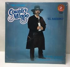 """The Outlaw"" COUNTRY MINGO ""EL Asesino"" FLP-5053 Falcon 1981 Lp Record New!"