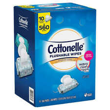 Cottonelle Fresh Care Flushable Wipes, 560 Wipes - Free Shipping! - Best Price!