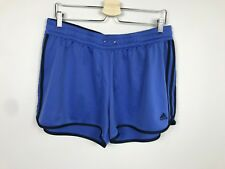 adidas Woman Sport Short  XL Activewear Athletic Clothing Blue