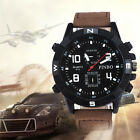 Men's Sport Military Watch Canvas Analog Quartz Fashion Casual Wrist Watches NEW