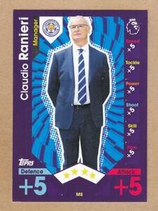 TOPPS - MATCH ATTAX EXTRA PL - 2016-17 - C.Ranieri - Leicester City - M8 - COACH