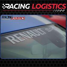 Pare-Brise Stickers Autocollant Vinyl RENAULT SPORT RS Twingo Clio Megane Captur