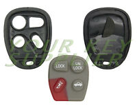 New Replacement Keyless Remote Key Fob Clicker Shell Case 4 Button Pad Housing