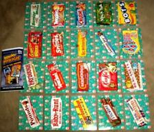 "2018 Wacky Packages Go To The Movies ""CONCESSION STAND STICKERS"" Set + Wrapper"