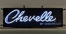 Chevelle By Chevrolet Neon Sign - GM - Chevy - SS - Super Sport - Muscle Car