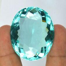 188.30 Cts Top Luster Aquamarine Oval Cut Loose Gemstone