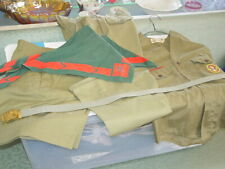 1960s Boy Scout Uniform, Shirt, Pants, Shorts, Patches, Belt Buckle Scarfs
