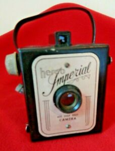 Vintage Herco Imperial 620 Snap Shot Box Camera Bakelite 1950s NOT TESTED
