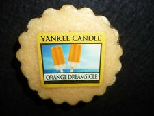 Yankee Candle Set of 3 Orange Dreamsicle Tarts Wax Melts NEW