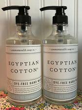 2 CST COMMONWEALTH SOAP CO EGYPTIAN COTTON LIQUID HAND SOAP 26 OZ EA JUMBO! wash