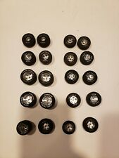 Slot Cars Lot of 1/32 or 1/24 scale Slot Car Tires / Wheels