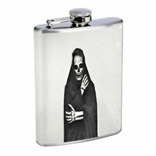 Death Reaper Em3 Flask 8oz Stainless Steel Hip Drinking Whiskey