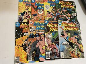 Wonder Woman DC Vol 1 #255 259 260 Whitman Variant Lot + 261 262 263 265 277