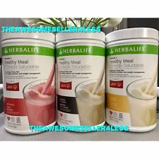NEW 3X Herbalife Formula 1 Healthy Meal Nutritional Shake Mix 26.4oz ALL FLAVORS