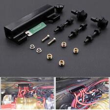 Vacuum Intake Manifold Kits 6Port 1/8 NPT Turbo Wastegate Boost Block Black
