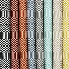 McAlister Textiles Colorado | Moroccan Style Geometric Fabric Upholstery Metre