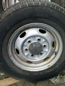 ford ranger steel spare wheel 2002 inc tyre