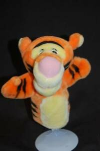 Disney Tigger Hand Puppet Orange Black Winnie The Pooh Fisher Price Plush Toy