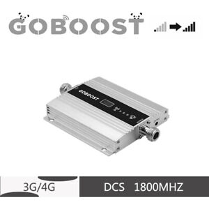 4G LTE 1800MHz band3 cell phone signal amplifier 65 dB mobile repeater amplifier