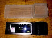 Merlin XU870 7.2mb 3G/HSDPA Laptop ExpressCard PCMCIA T Mobile