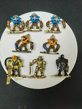 MEGA CONSTRUX HALO 8 figures 10th GOLD MASTER CHIEF Spartan Grunt