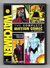 COFFRET 2 DVD / WATCHMEN - THE COMPLETE MOTION COMIC / DC MARVEL COMME NEUF