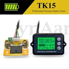 Batterietester LiFePO/Lithium/Lead Acid Prüfer TK15 50A DC 8-80V Coulomb Counter