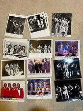 Rare Lot Of 12 Four Tops Press / Promo Photos Uk Brian Epstein On Stage