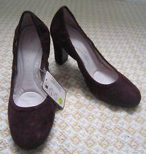 NEXT sole survivor court shoes soft 100% real suede leather  EU 36 UK 3.5 BNWT