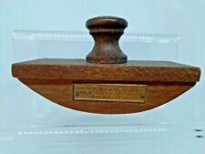 More details for ink blotter ww1 teak of h.m.s iron duke admiral jellicoe's flagship jutland 1916