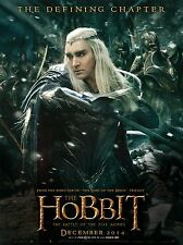 "The Hobbit The Battle Of The Five Armies :Poster Movie Vinyl 27"" X 40""#Thranduil"