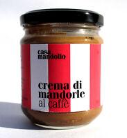 Crema di mandorle al caffè biologica 190gr cn zucchero di canna Colazione Sicily
