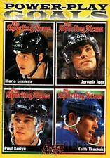 1996-97 Fleer #141 Mario Lemieux, Jaromir Jagr, Paul Kariya, Keith Tkachuk