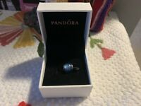 Pandora Authentic Pandora Silver 925 Sky Blue Charm Bead 791722NBS