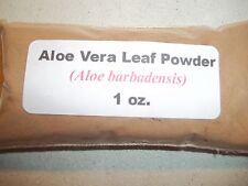 1 oz. Aloe Vera Leaf Powder (Aloe barbadensis)