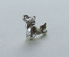 Fantail Goldfish Fish 3D encanto plata esterlina 925