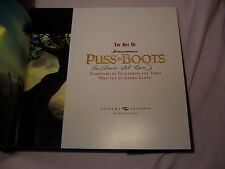 Ramin Zahed THE ART OF PUSS IN BOOTS New Book SIGNED by Guillermo Del Toro