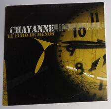 CHAYANNE - Te Echo De Menos - PROMO CD . 2005. Norte 82876773022