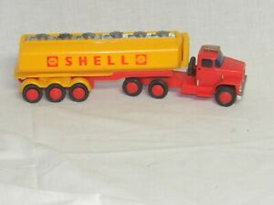 """SHELL OIL TANKER TRACTOR TRAILER--RARE DODGE--FRICTION--""""BLUE BOX'--NO RESERVE--"""