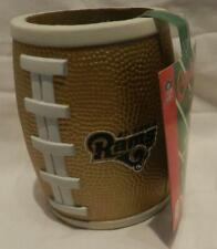 New NFL Can In Ball St Louis Rams Football Can Koozie