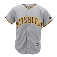 Pittsburgh Pirates Official MLB Majestic Cool Base Kids Youth Size Jersey New