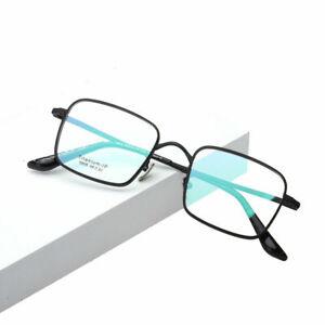 Designer Men's Pure Titanium Full Rim Eyeglasses Frames Square Eyewear RX Able