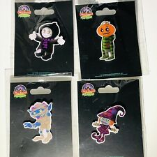 More details for alton towers resort - scarefest character pin badges set (4 pins) 2021