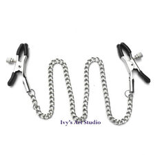 Metal Chain Clips Nipple Clamps Breast BDSM Adult Sex Toy