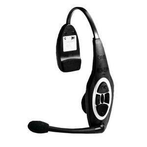 Black 3M XT-1 Wireless Drive Thru Intercom XT-1 Headset Only