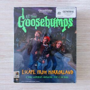 1996 PC Oz Big Box Edition of GOOSEBUMPS: ESCAPE FROM HORRORLAND | Sealed