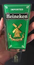 Heineken Beer Keg Tap Handles Knobs Pulls Acrylic Holland Party Pub LAST ONE!