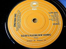 "JONATHAN KING - OLD DJ'S (PLAYING NEW SOUNDS)  7"" VINYL"
